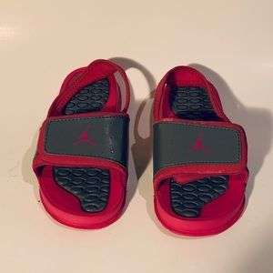 60c20c16258 Jordan. Toddler/baby girl's Jordan slides